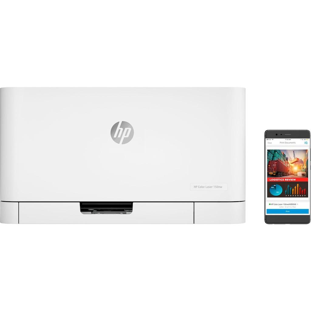 HP Farblaserdrucker »Color Laser 150nw«