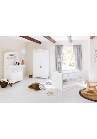 Pinolino® Babyzimmer-Komplettset »Florentina«, (Set, 4 St.), breit mit Reglaufsatz;... kaufen