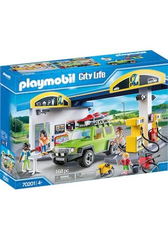Playmobil® Konstruktions-Spielset »Große Tankstelle (70201), City Life«, (168 St.),... kaufen