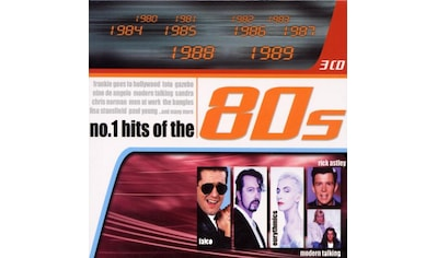 Musik-CD »NO. 1 HIT-BOX OF THE 80'S / DIVERSE« kaufen