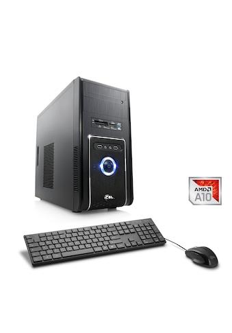 CSL Multimedia PC | AMD A10 - 9700 | Radeon R7 | 8 GB DDR4 RAM »Sprint T4932 Windows 10 Home« kaufen