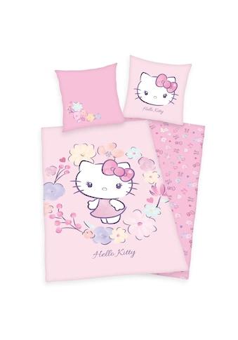 Hello Kitty Kinderbettwäsche »Hello Kitty, Baumwoll-Renforcé« kaufen