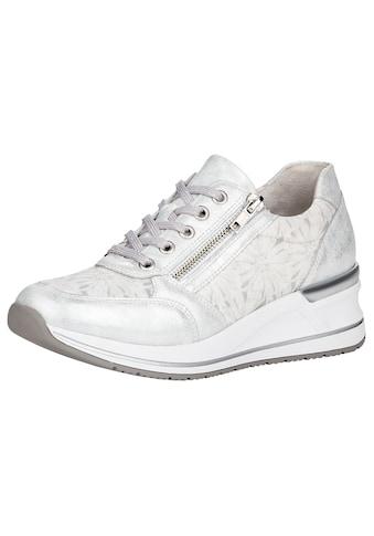 Remonte Wedgesneaker, mit seitlichem Reißverschluss kaufen
