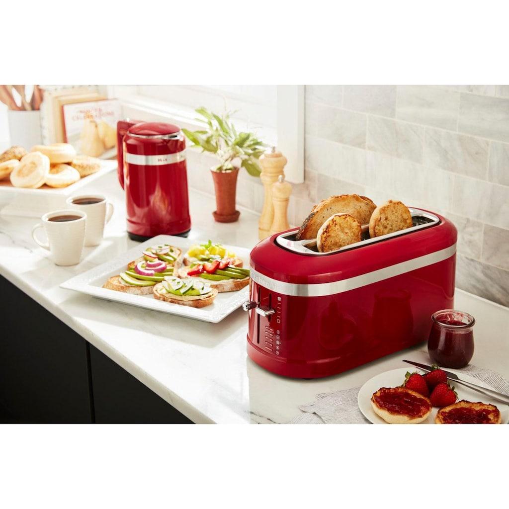 KitchenAid Toaster »5KMT5115EER«, 2 lange Schlitze, für 4 Scheiben, 1600 W