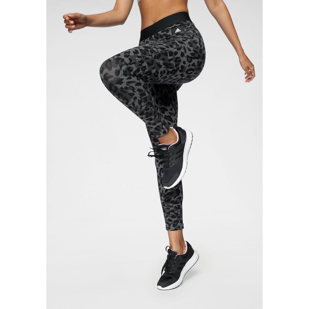 adidas Performance Leggings »ADIDAS SPORTSWEAR LEOPARD PRINT LEGGINGS«