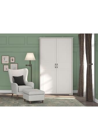 Home affaire Kleiderschrank »Evergreen«, hochwertig UV lackiert, Drehtürenschrank im... kaufen