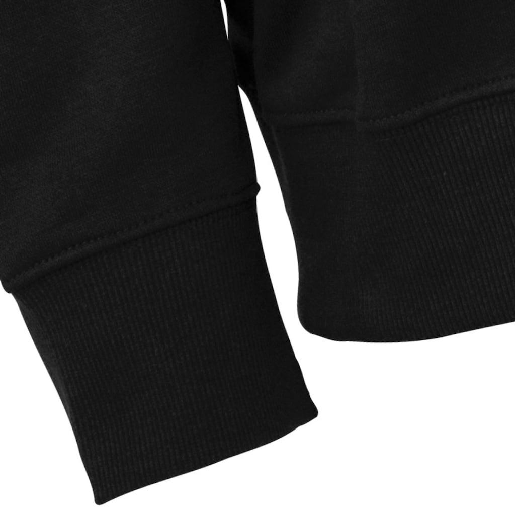 Kappa Sweatshirt »SWEATSHIRT«, mit angesagtem Rundhalsausschnitt