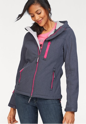 Superdry Softshelljacke »HOODED WINTER WINDTREKKER« kaufen