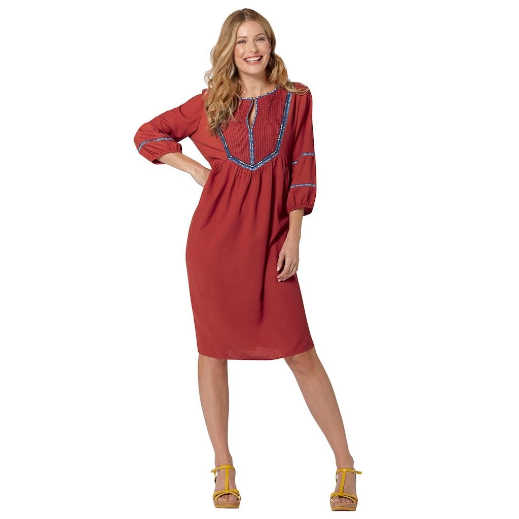 Inspirationen Blusenkleid »Kleid«