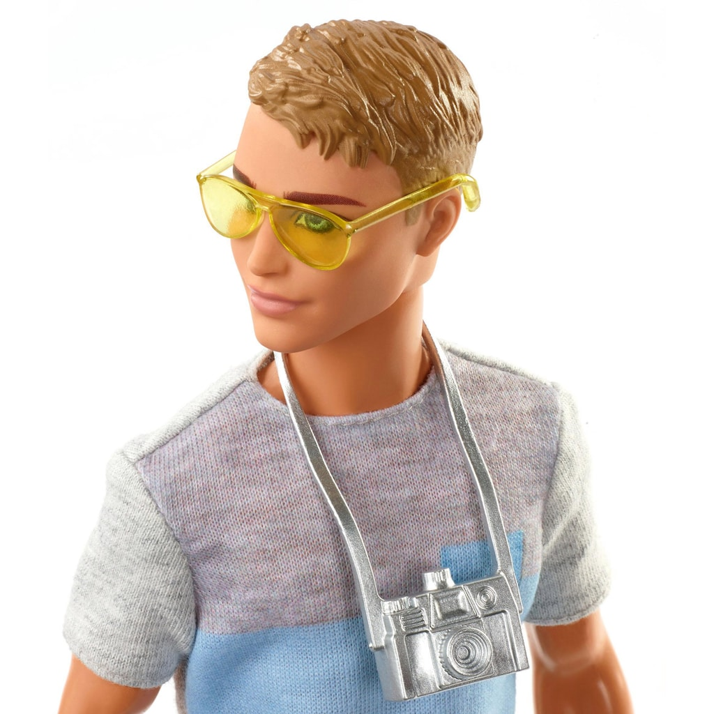 Barbie Anziehpuppe »Ken Reise Puppe, blond mit Zubehör«