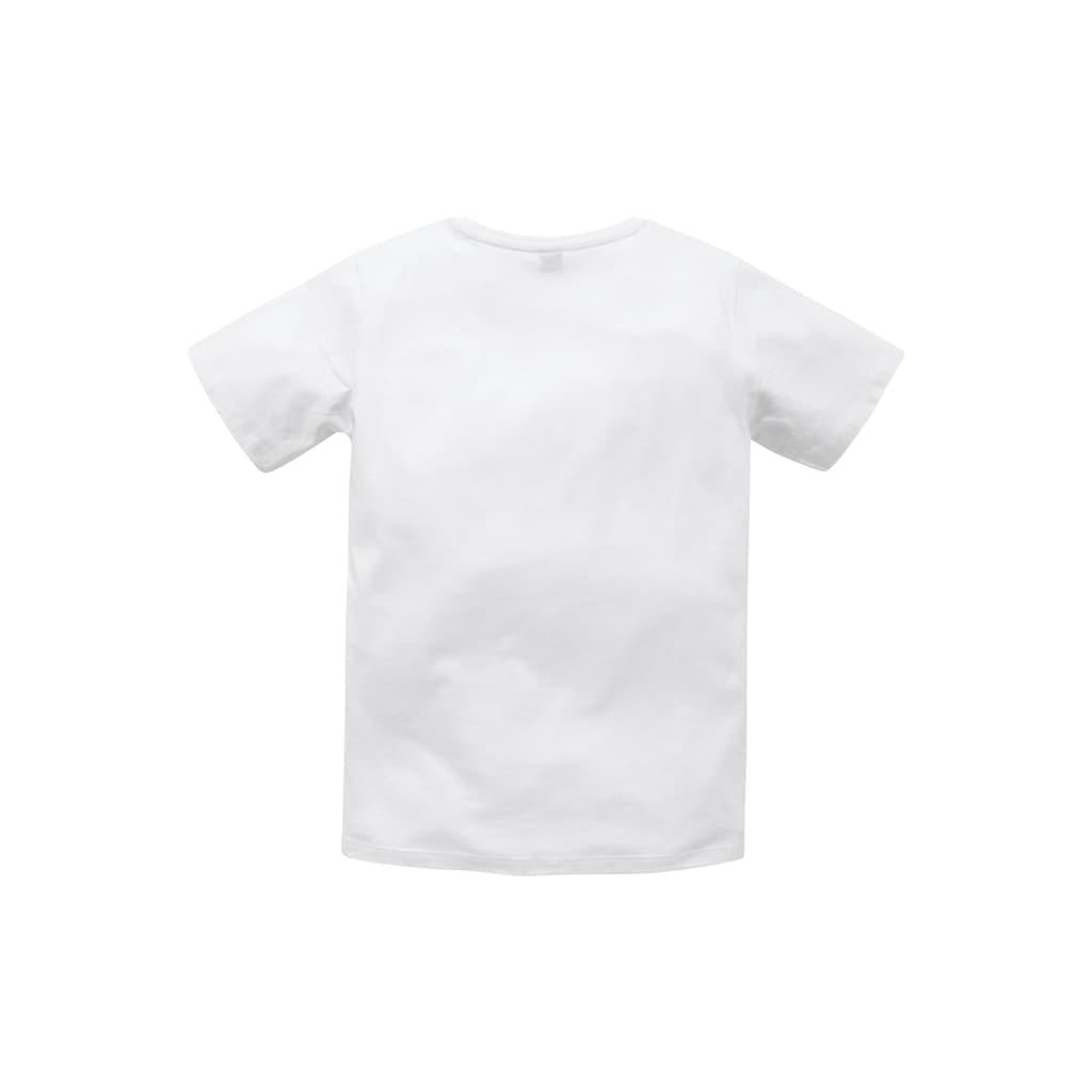Bench. T-Shirt, mit Brustdruck