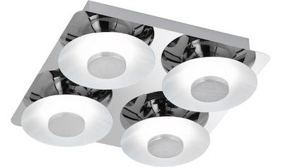 WOFI LED Deckenleuchte »Deckenleuchte Space 4flg«, LED-Modul, 1 St., Warmweiß, hohe... kaufen