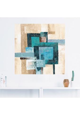 Artland Wandbild »Abstrakte Karos«, Muster, (1 St.), in vielen Größen & Produktarten -... kaufen