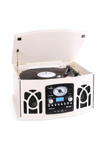 Auna Stereoanlage Plattenspieler MP3 - Aufnahme CD Player Kompaktanlage »NR - 620« kaufen