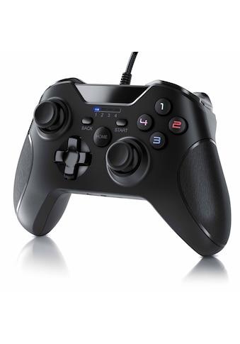 CSL Gamepad für PC und PS3 im Xbox - Design »Controller mit hochwertigen Analogsticks« kaufen