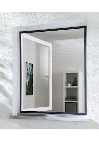 hecht international Insektenschutz-Fenster »MASTER SLIM«, anthrazit/anthrazit, BxH: 100x120 cm kaufen