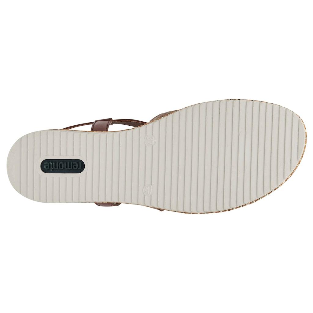 Remonte Sandalette, mit verstellbarer Schnalle