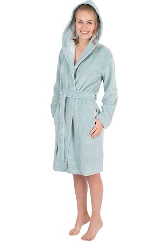 Wewo fashion Damenbademantel »6121«, mit Schubtaschen kaufen