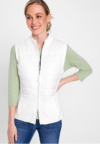 Olsen Strickweste, mit Reißverschluss kaufen