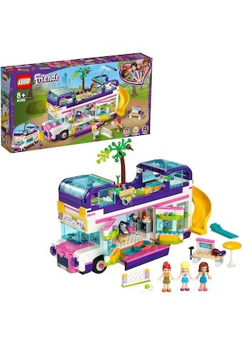 LEGO® Konstruktionsspielsteine »Freundschaftsbus (41395), LEGO® Friends«, (778 St.),... kaufen