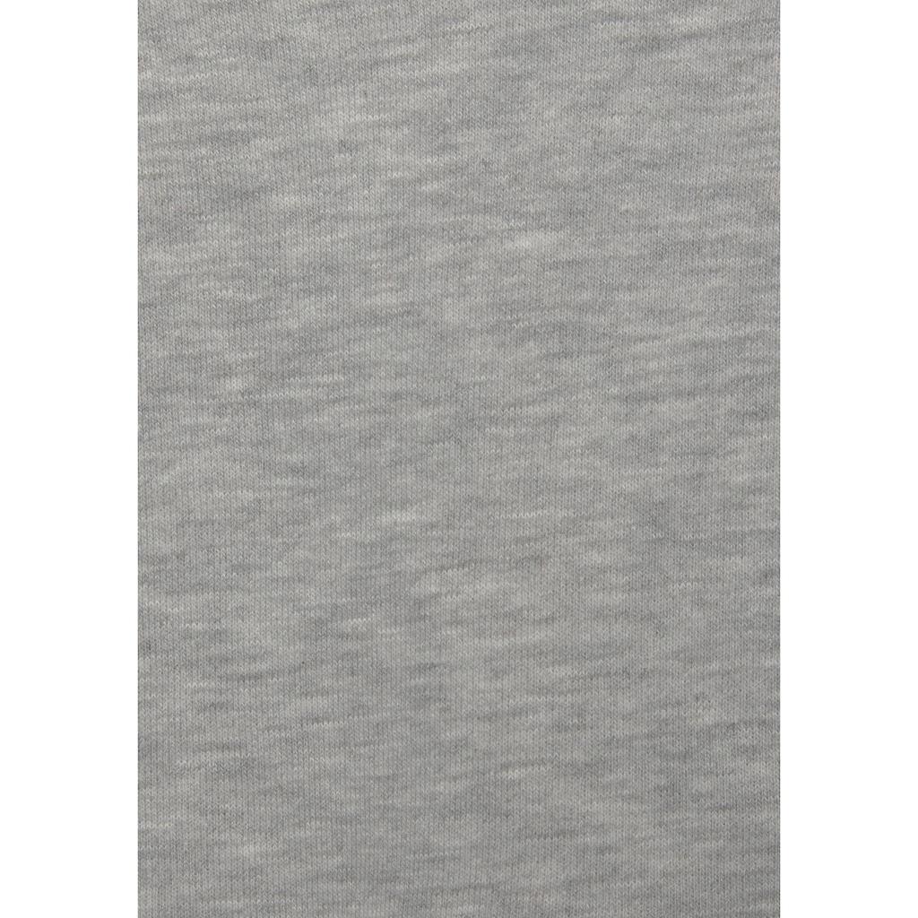 LASCANA Kapuzensweatshirt »Galaxy«, ärmellos und Kängurutasche
