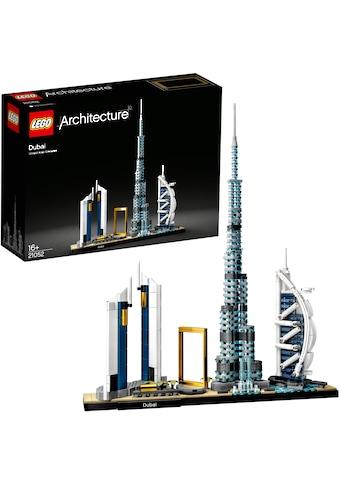 LEGO® Konstruktionsspielsteine »Dubai (21052), LEGO® Architecture«, (740 St.), Made in... kaufen