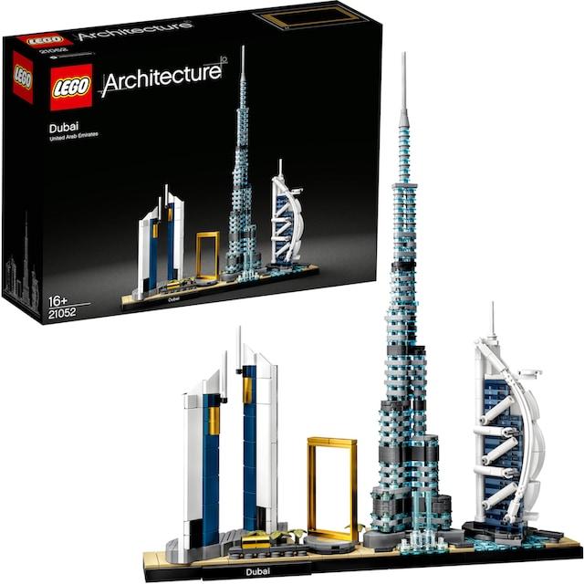 """LEGO® Konstruktionsspielsteine """"Dubai (21052), LEGO® Architecture"""", Kunststoff, (740-tlg.)"""