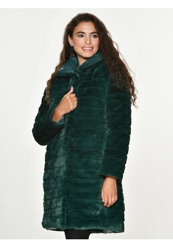 Maze Fake Fur Wendejacke lang kaufen