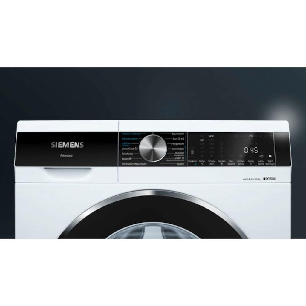 SIEMENS Waschtrockner »WN44G240«, iQ500