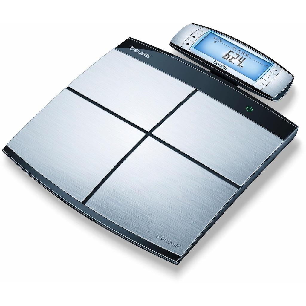 BEURER Körper-Analyse-Waage »BF 105 Body Complete«, Innovative Vernetzung zwischen PC, Smartphone und Waage