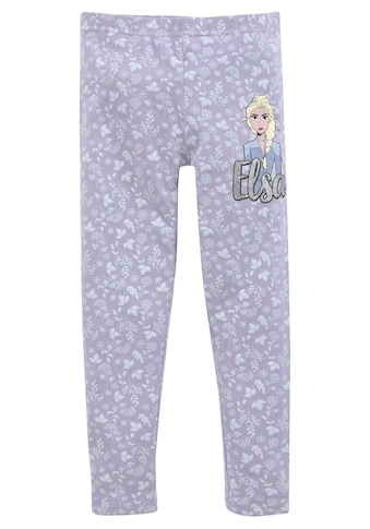 Disney Frozen Leggings »FROZEN Die Eiskönigin«, hübsch gemustert mit kleinem Elsa Motiv kaufen
