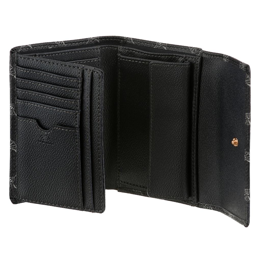 Joop! Geldbörse »cortina cosma purse mh10f«, mit trendigem Allover-Muster und goldfarbenen Details