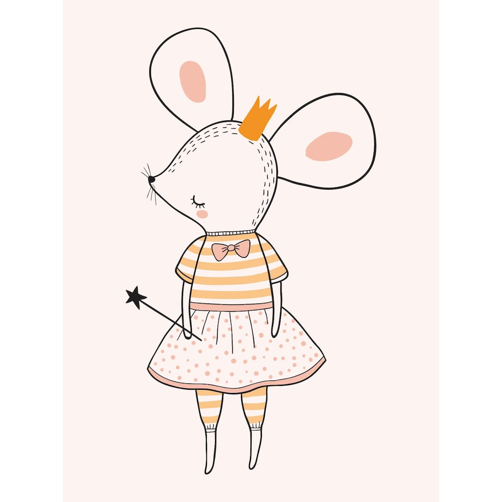 Lüttenhütt Leinwandbild »Mäusefee«
