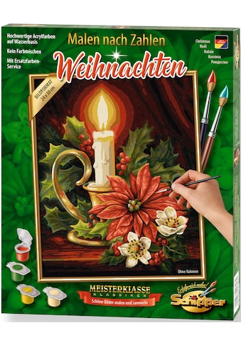 Schipper Malen nach Zahlen »Meisterklasse Klassiker - Weihnachten«, Made in Germany kaufen