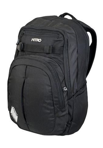 NITRO Schulrucksack »Chase Black« kaufen