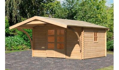 Karibu Gartenhaus »Meldorf 5«, mit Vordach kaufen