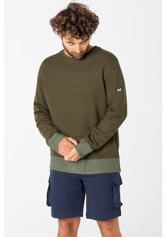 SUPER.NATURAL Sweatshirt »M RIFFLER CREW«, Bündchen an Ärmel und Rumpf aus weichem... kaufen