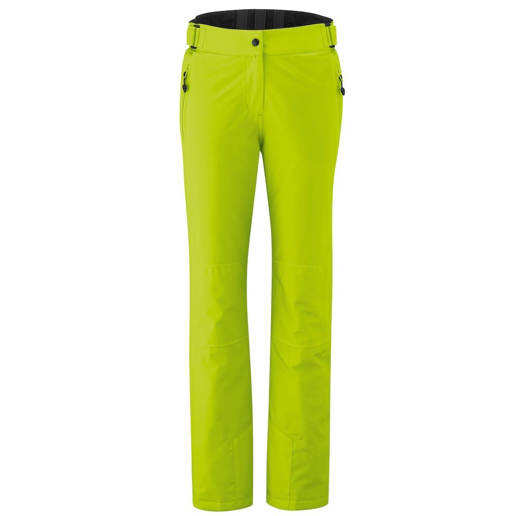 Maier Sports Skihose »Vroni slim«, Slim fit, wasserdicht, atmungsaktiv, elastisch