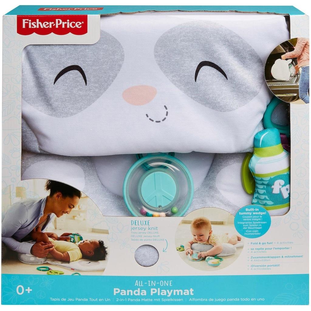 Fisher-Price® Baby Gym »2-in-1 Panda Matte«, mit Spielkissen