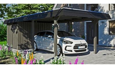 SKANHOLZ Einzelcarport »Wendland«, BxT: 362x870 cm, mit Abstellraum kaufen