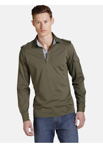 Charles Colby Sweatshirt »DUKE CORMAC«, Schulterriegel mit Knopf kaufen