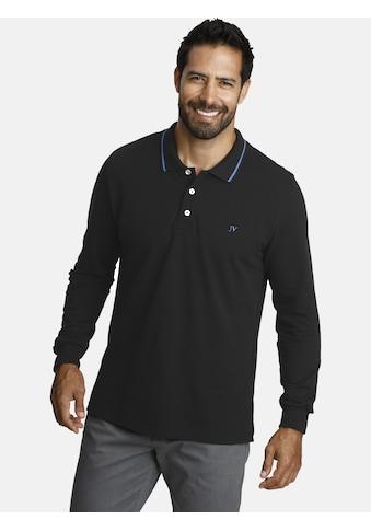 Jan Vanderstorm Langarm-Poloshirt »ELLIS«, hochwertige Pikee-Qualität kaufen