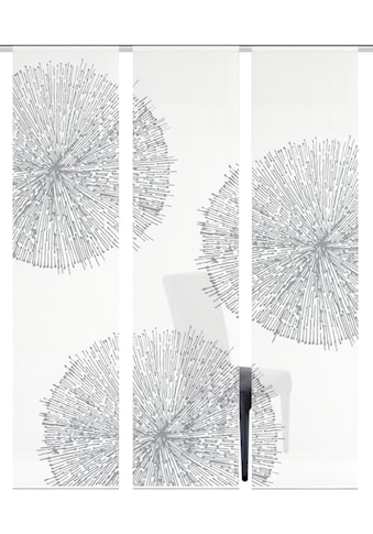 Vision S Schiebegardine »3ER SET CRESTON«, HxB: 260x60, Schiebevorhang 3er Set... kaufen