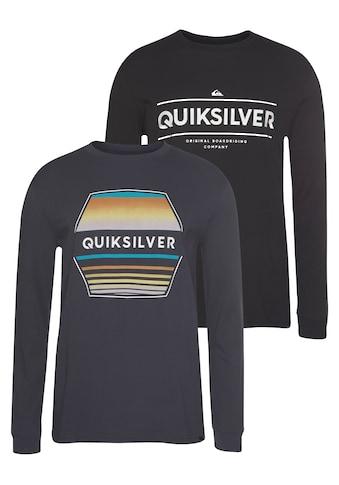 Quiksilver Langarmshirt »DIAGOJI DRIFT RETHIN PACK« (Packung, 2er - Pack) kaufen
