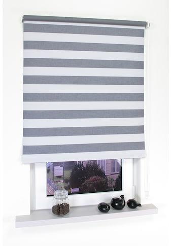 Seitenzugrollo »Dekor Streifen«, Liedeco, Lichtschutz, ohne Bohren kaufen