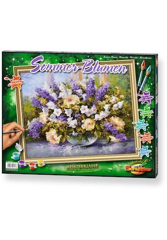 Schipper Malen nach Zahlen »Meisterklasse Premium Sommerblumen«, Made in Germany kaufen