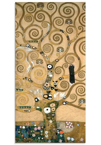 Artland Glasbild »Lebensbaum. Detail, Werkvorlage«, Bäume, (1 St.) kaufen