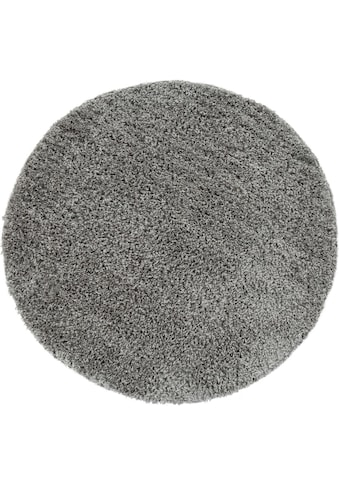 Hochflor - Teppich, »Sky 250«, Paco Home, rund, Höhe 35 mm, maschinell gewebt kaufen