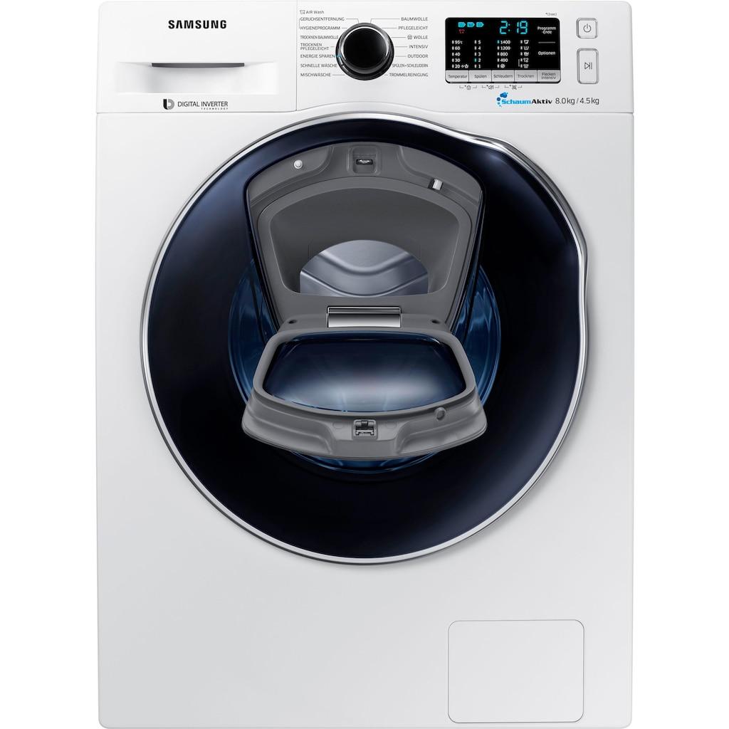 Samsung Waschtrockner »WD8EK5A00OW/EG«, AddWash WD5500