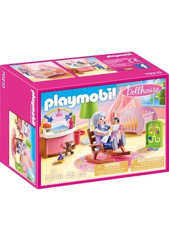 "Playmobil® Konstruktions - Spielset ""Babyzimmer (70210), Dollhouse"", Kunststoff, (43 - tlg.) kaufen"